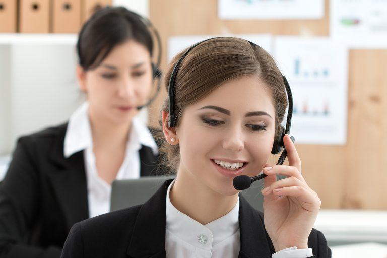 Обзвон клиентов колл-центром